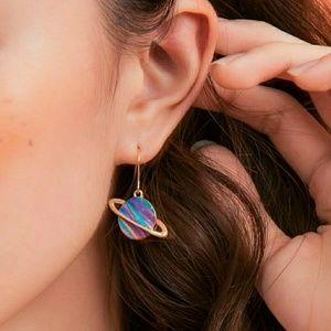 Jewelry - Rainbow Planet Earrings